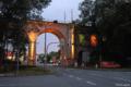 Apolda: Effektbeleuchtung am Viadukt . Vieselbacher Elektroservice GmbH (Foto: lichtraum, Torsten Müller)